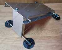 Пластина стальная универсальная монтажная  для лебедок и аксессуаров